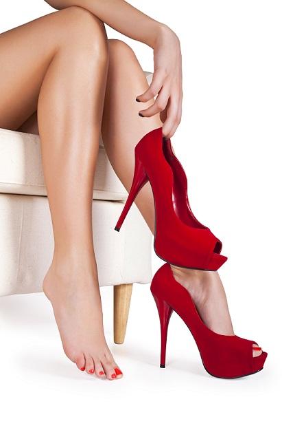 dolor pies zapato rojo1